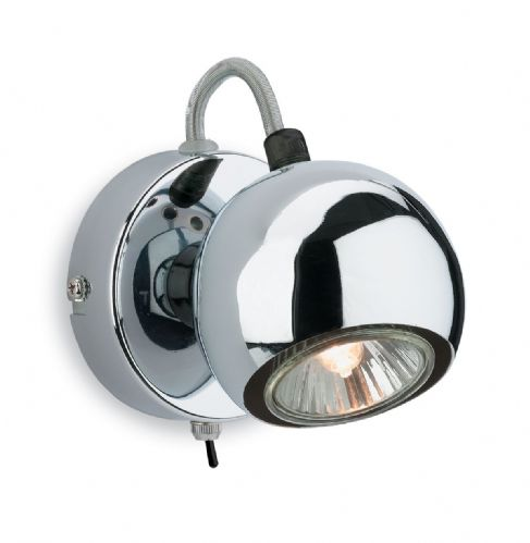 Firstlight 3350CH Chrome Magnetic Single Spot (Switched)